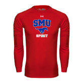 Under Armour Red Long Sleeve Tech Tee-Spirit