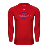 Under Armour Red Long Sleeve Tech Tee-Athletic Mustangs in Football