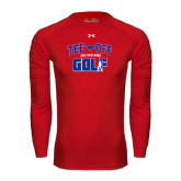 Under Armour Red Long Sleeve Tech Tee-Tee Off Design