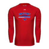 Under Armour Red Long Sleeve Tech Tee-Rowing Profile Design