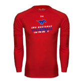 Under Armour Red Long Sleeve Tech Tee-Can You Dig It
