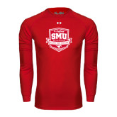 Under Armour Red Long Sleeve Tech Tee-A Century of SMU Athletics