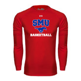 Under Armour Red Long Sleeve Tech Tee-Basketball