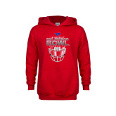 Youth Red Fleece Hoodie-2017 Frisco Bowl - Football