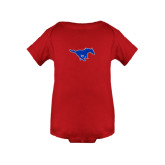 Red Infant Onesie-Official Outlined Logo