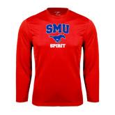 Performance Red Longsleeve Shirt-Spirit