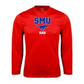 Syntrel Performance Red Longsleeve Shirt-Dad
