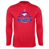 Performance Red Longsleeve Shirt-2017 AAC Conference Champions - Mens Basketball Banners