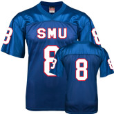 Replica Royal Blue Adult Football Jersey-#8