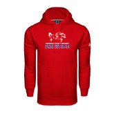 Under Armour Red Performance Sweats Team Hoodie-Equestrian Design