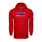 Under Armour Red Performance Sweats Team Hood-Rowing Profile Design