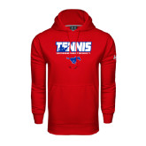 Under Armour Red Performance Sweats Team Hood-Tennis Design