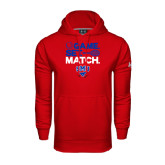 Under Armour Red Performance Sweats Team Hood-Game Set Match