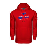 Under Armour Red Performance Sweats Team Hood-Can You Dig It