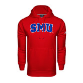 Under Armour Red Performance Sweats Team Hood-Block SMU