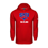 Under Armour Red Performance Sweats Team Hoodie-Rowing