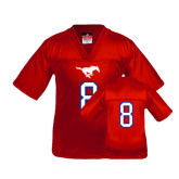 Youth Replica Red Football Jersey-#8