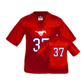 Youth Replica Red Football Jersey-#37