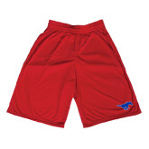 Performance Classic Red 9 Inch Short-Official Outlined Logo