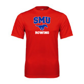 Performance Red Tee-Rowing
