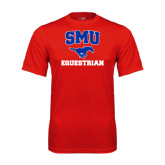 Syntrel Performance Red Tee-Equestrian