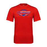 Syntrel Performance Red Tee-Mustangs in Football