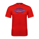 Syntrel Performance Red Tee-Athletic Mustangs in Football