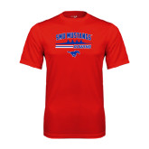 Syntrel Performance Red Tee-Rowing Profile Design