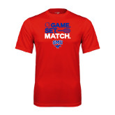 Performance Red Tee-Game Set Match
