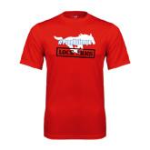 Syntrel Performance Red Tee-#PonyUpTempo Lock Arms