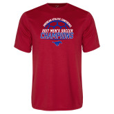 Syntrel Performance Red Tee-2017 Mens Soccer Champions