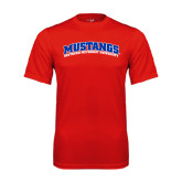 Syntrel Performance Red Tee-Arched Mustangs