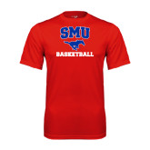 Syntrel Performance Red Tee-Basketball