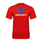 Syntrel Performance Red Tee-Cross Country