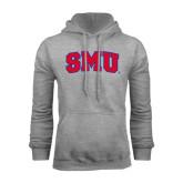 Grey Fleece Hoodie-Block SMU