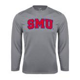 Performance Steel Longsleeve Shirt-Block SMU