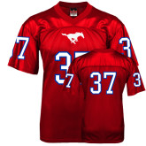 Replica Red Adult Football Jersey-#37