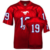 Replica Red Adult Football Jersey-#19