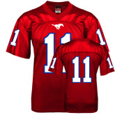 Replica Red Adult Football Jersey-#11