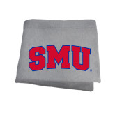 Grey Sweatshirt Blanket-Block SMU