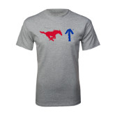 Grey T Shirt-Pony Up