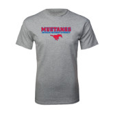 Grey T Shirt-Stacked Mustangs w/ Pony