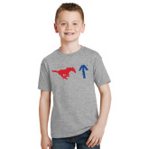 Youth Grey T-Shirt-Pony Up