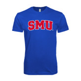 Next Level SoftStyle Royal T Shirt-Block SMU