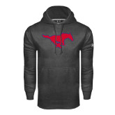 Under Armour Carbon Performance Sweats Team Hood-Official Outlined Logo
