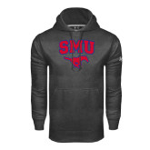 Under Armour Carbon Performance Sweats Team Hood-SMU w/Mustang