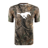 Realtree Camo T Shirt-Official Logo