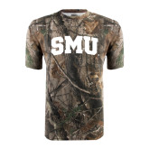 Realtree Camo T Shirt-Block SMU