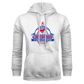White Fleece Hoodie-2017 AAC Conference Champions - Mens Basketball Banners