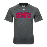 Under Armour Carbon Heather Tech Tee-Block SMU
